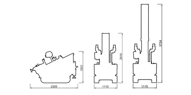 Schemă Echipament Foraj Beretta T26
