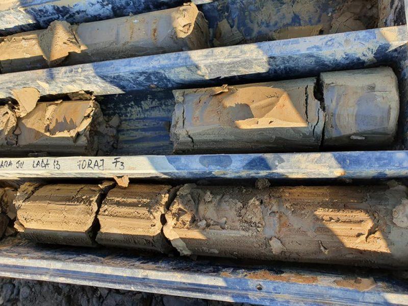 Studiu GEO de stabilire a coloanei litologice a forajului geotehnic